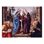 Maria y St. Elizabeth San Nicolás y St. Anthon Invitaciones Personalizada