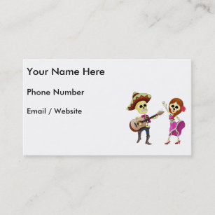 Mariachis Business Cards Zazzle