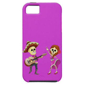 Mariachi Dancing Couple Day of the Dead iPhone 5 Cases
