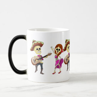 Mariachi Dancing Couple Day of the Dead Mug