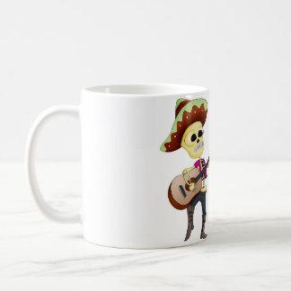 Mariachi Dancing Day of the Dead Couple Coffee Mug