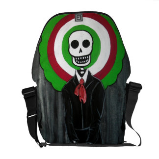 MARIACHI DAY OF THE DEAD MESSENGER BAG