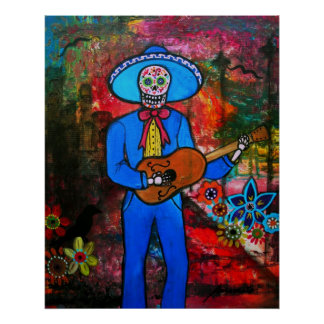 MARIACHI DAY OF THE DEAD POSTERS