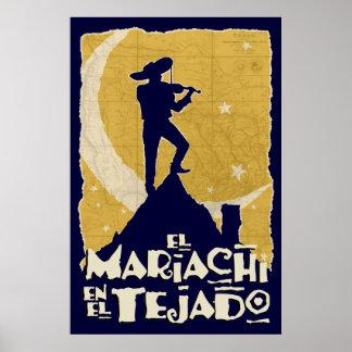 Mariachi en el tejado posters