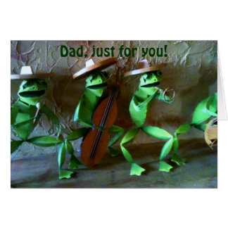 MARIACHI FATHER'S DAY FOR DAD CARD