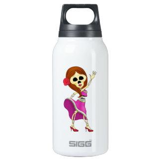 Mariachi Female Sugar Skull SIGG Thermo 0.3L Insulated Bottle