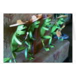 MARIACHI FROGS SAY HAPPY BIRTHDAY GREETING CARD