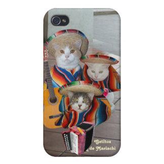 Mariachi Kitties/Gatitos de Mariachi iPhone 4/4S Covers