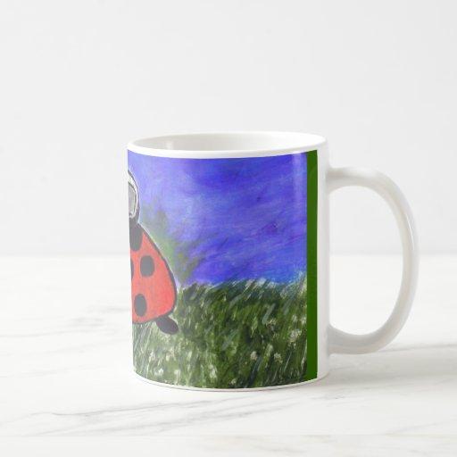Mariachi Ladybug Classic White Coffee Mug