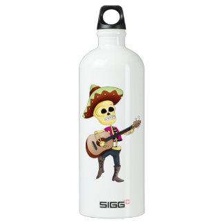 Mariachi Male Sugar Skeleton SIGG Traveler 1.0L Water Bottle
