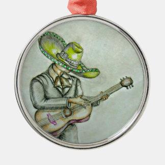 mariachi metal ornament