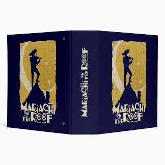 Mariachi on the Roof 3 Ring Binder