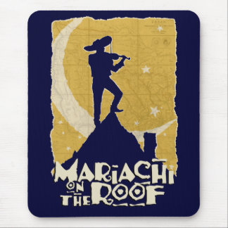 Mariachi on the Roof Mouse Pad