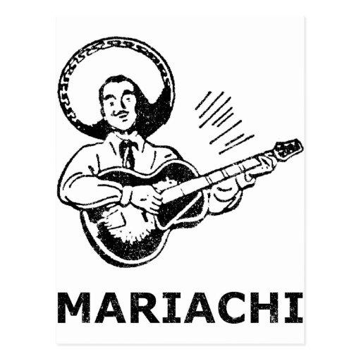Mariachi Post Card