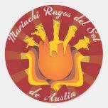 Mariachi Rayos de Sol de Austin Etiqueta Redonda