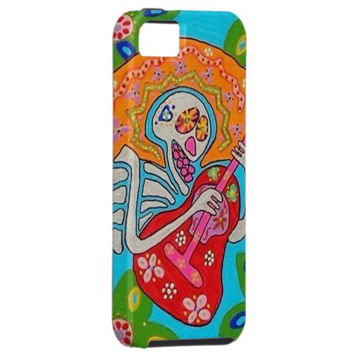 Mariachi Serenade - Day Of The Dead Skeleton iPhone SE/5/5s Case