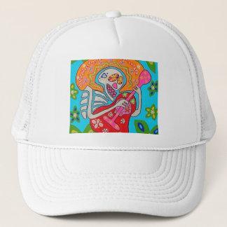 Mariachi Serenade - Day Of The Dead Skeleton Trucker Hat