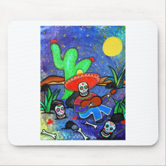 MARIACHI SIESTA DAY OF THE DEAD MOUSE PAD