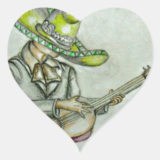 Mariachi singer sticker