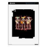 Mariachi Skeleton Trio iPad 3 Skins