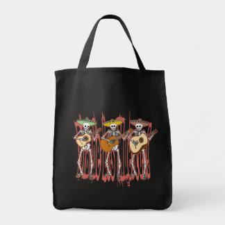 Mariachi Skeleton Trio Tote Bag