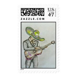 Mariachi Stamp