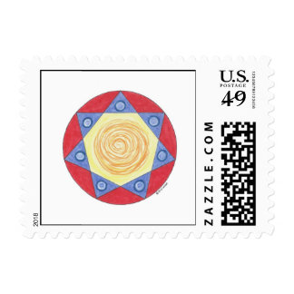 MariaJose's Star Postage Stamp