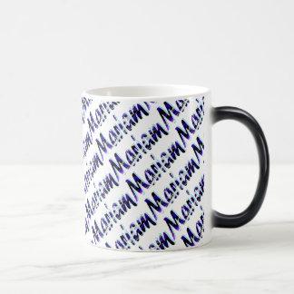 Marian Customized Blue Style 11 oz Morphing Mug