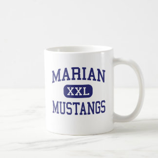 Marian - Mustangs - High - Bloomfield Hills Classic White Coffee Mug