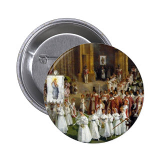 Marian procession button