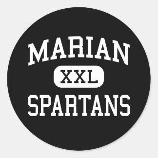 Marian - Spartans - Catholic - Chicago Heights Sticker