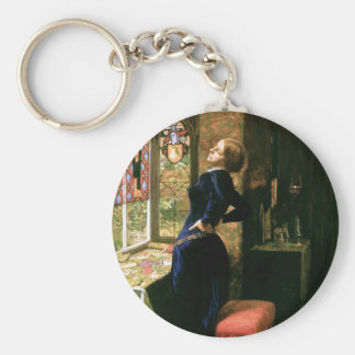 Mariana at the Window Keychain