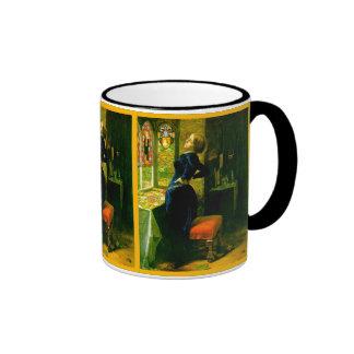 Mariana en el ~John Moated Everett Millais del gra Tazas De Café