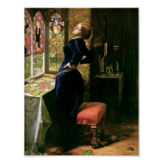 Mariana en la ventana póster