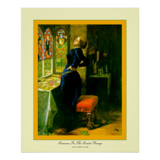 Mariana In The Moated Grange~John Everett Millais Posters
