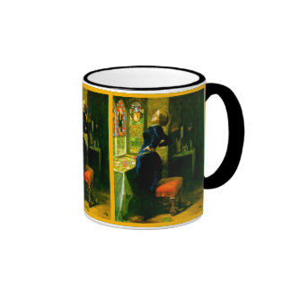 Mariana In The Moated Grange ~John Everett Millais Ringer Coffee Mug