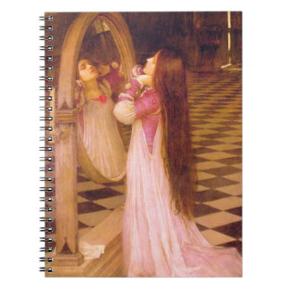 MARiANA iN ThE SoUTH, by John William Waterhouse Notebook