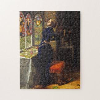 Mariana - John Everett Millais Jigsaw Puzzle
