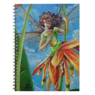 Marianna - Heliconia Haute Couture Spiral Notebook