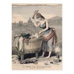 Marianne la reina de las lavanderas postal