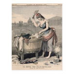 Marianne la reina de las lavanderas tarjeta postal