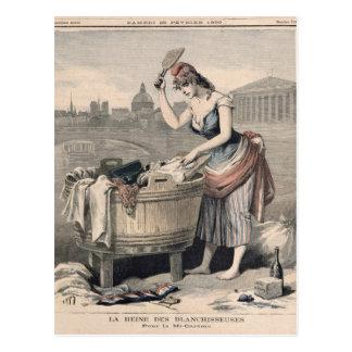 Marianne la reina de las lavanderas tarjetas postales