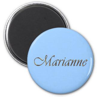 Marianne Name Branded Gift Item Magnet