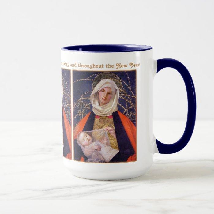 Marianne Stokes Madonna CC0510 Christmas Mug