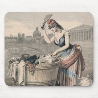 Marianne the Queen of the Washerwomen Mouse Pad