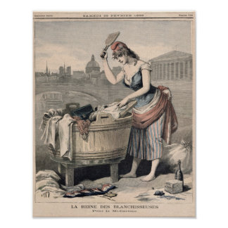 Marianne the Queen of the Washerwomen Poster