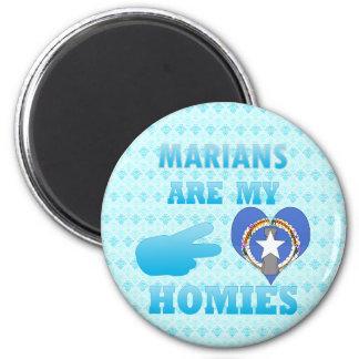 Marians es mi Homies Imán Para Frigorifico