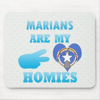 Marians es mi Homies Alfombrilla De Raton