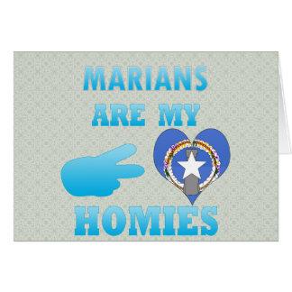Marians es mi Homies Tarjeta