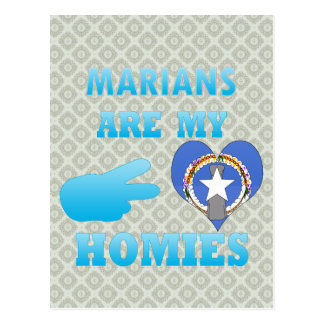 Marians es mi Homies Postales